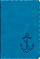 ESV Compact Bible Blue Anchor