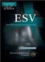 ESV Pitt Minion Reference Bible - Black Imitation Leather