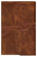 ESV Thinline Bible - Brown Cowhide