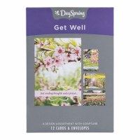 CARD, Get Well - Spring Time