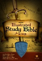 HCSB Illustrated Study Bible for Kids - Blue Imitation Leather