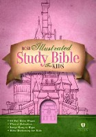 HCSB Illustrated Study Bible for Kids - Pink Imitation Leather
