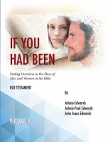 If You Had Been, Volume 1