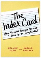 The Index Card: Why Personal Finance Doesn't Have to be Complicated