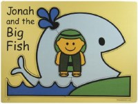 Wooden Puzzle -  Jonah and the Big Fish