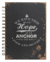Journal - Spiral, Heb 6:19 Anchor