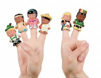 Finger Puppets - Kids from Around the World