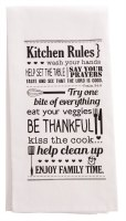 Tea Towel - Kitchen Rules