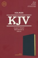 KJV Giant Print Referemce Bob;e
