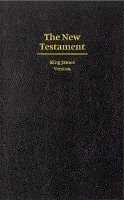 KJV Giant Print New Testament - Black Hardcover