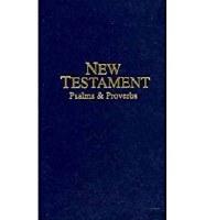 KJV Pocket New Testament with Psalms & Proverbs -