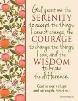 MAGNET,  Serenity Prayer