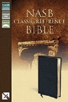 NASB Classic Reference Bible- Black Bonded Leather