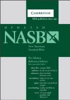 NASB Cambridge Pitt Minion Bible - Brown Leather