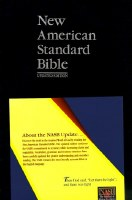 NASB Side Column Reference Bible - Blue