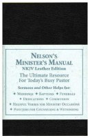 Nelson's Ministers Manual NKJV Black Leather