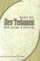 NIV NT Pocket NT w/Psalms & Proverbs
