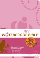 NIV Waterproof Bible - Pink