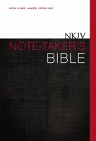 NKJV Notetaker's Bible Hardcover