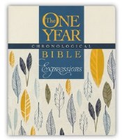 NLT One Year Chronological Bible - Creative Expressions Softcover
