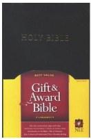 NLT Gift & Award Bible - Black Hardcover