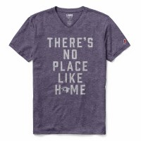 "League ""There's No Place Like Home"" Sutton Tee Purple"