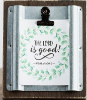 Photo Clip, The Lord is Good