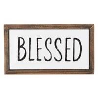 Plaque - Blessed