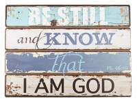 Plaque - Wooden, Psalm 46:10