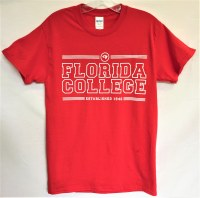 Gildan Red Tower Tee