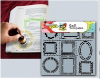 Bible Journaling Stencils Frames