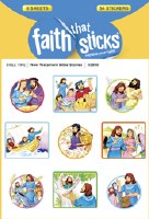 New Testament Bible Stoires: Faith That Sticks