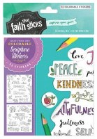 Colorable Stickers,Gal5:22