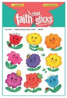 Stickers, Happy Flowers