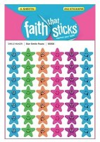 Stickers, Star Smile Faces
