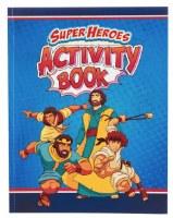 Super Heroes Activity Book