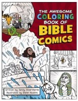 The Awesome Coloring Book of Bible Comics