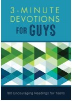 Three Minute Devotions for Guys