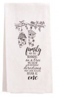 Tea Towl - Family Quote