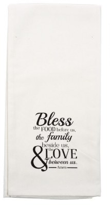 Tea Towel - Bless the Food Before Us