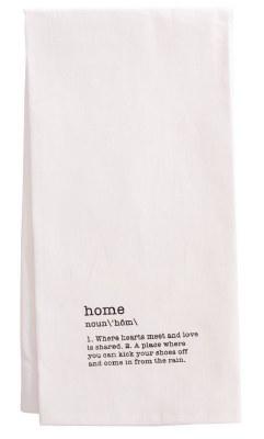 Tea Towel - Home Definition