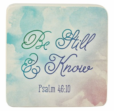 Decor Block - Psalm 46:10