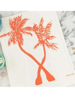 Tea Towel Palm Trees