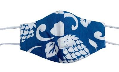 Face Mask Kilauea Blue