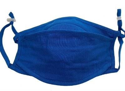 Face Mask 3D Tencel Blue