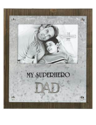 Frame Superhero Dad 4x6
