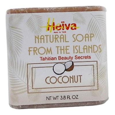 Heiva Natural Soap Coconut 3.8oz.
