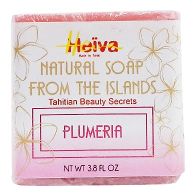 Heiva Natural Soap Plumeria 3.8oz
