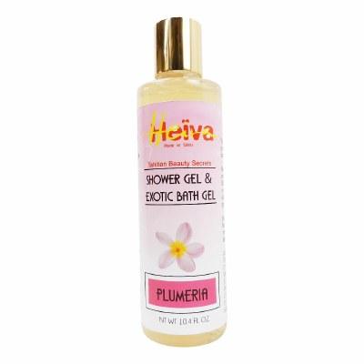 Heiva Shower Bath Gel Plumeria 10.4oz