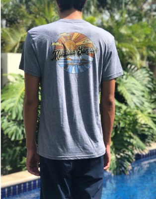 Groovy Sunrise Heather Grey Large
